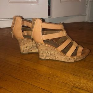 Women's Brown Chunky Sandals
